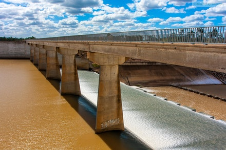 Fairbairn Dam, Emerald, QLD - I took a month of long service leave in April 2012 and my family and I did a trip through Outback QLD. Fairbairn Dam was...