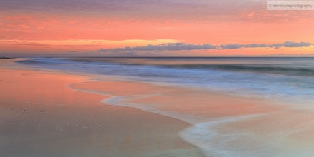 Sunrise Woorim Beach