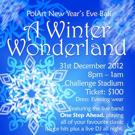 PolArt Perth: A Winter Wonderland NYE Ball, Challenge Stadium, 31 December 2012 - Over 500 performers, dancers and artists from all across Australia arrived...