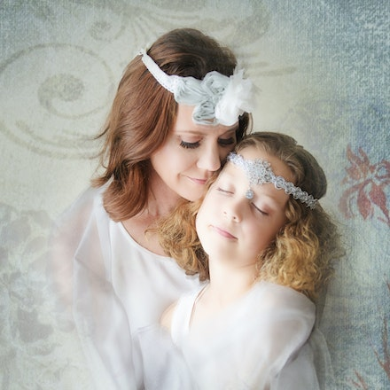 Mother and daughter - Portrait Couture