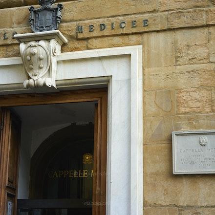 Medici Chapel entrance - Florence
