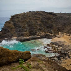 Halona Blowhole Lookout Hawaii