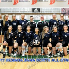 IHSVCA Indiana All Star Candids - 11/19/17 - View 186 Team and Candid images from the IHSVCA Indiana All-Star Classic held in Indianapolis on Sunday, November...