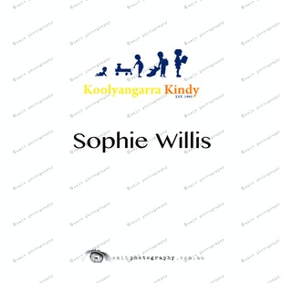 Koolyangarra Kindy -  Sophie Willis