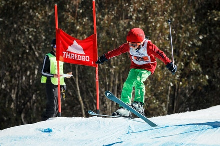 140829_sx_8342 - NSW State Championships-  skier cross race at Thredbo, NSW (Australia) on August 29 2014. Jan Vokaty