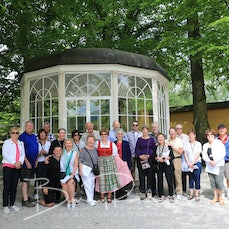 Day 6 - Salzburg - Passau - 23 May 2017 - The highlight of this day for me was the Day Excursion to Salzburg with the wonderful Eva who was our hostess...