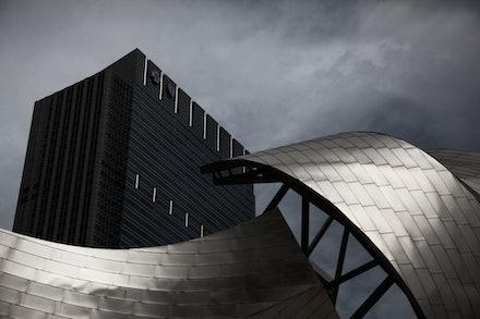MG_2291 Jay Pritzker Pavilion, Chicago - Jay Pritzker Pavilion, Chicago Frank Ghery, Architect
