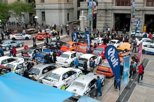2015 Targa Rally Perth Ceremonial Start Forest Place