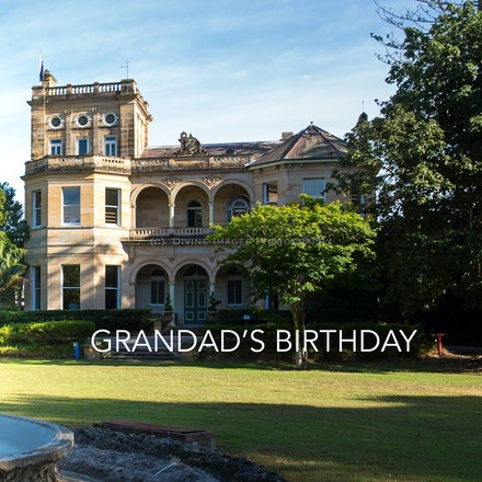 Grandad's birthday