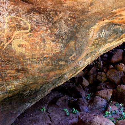 Aboriginal Rock Art - NT