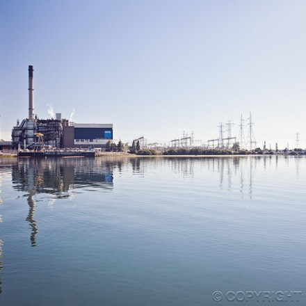 Power Station - Gas fired power station, located at Torrens Island South Australia, operated by AGL