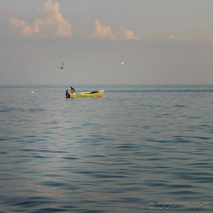 Jamaican Fishing Boat