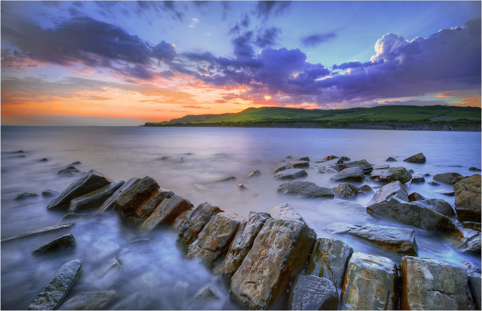 Kimmeridge-Bay-Dusk-E0536-11x17