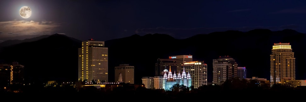Super Moon Salt Lake City
