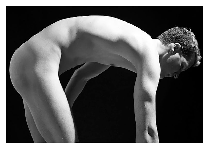 MT40400 - Signed Male Nude Photo Art by Jayce Mirada