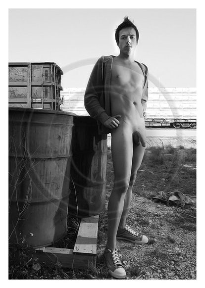 SS216609 - Signed Male Nude Photo Art by Jayce Mirada  5x7: $10.00 8x10: $25.00 11x14: $35.00  BUY NOW: Click on Add to Cart