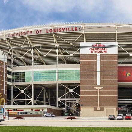 Papa John's Cardinal Stadium, University of Louisville/Color Photo_1632_428 - Photo by Campus Photos USA. The Papa John's Cardinal Stadium, located on...