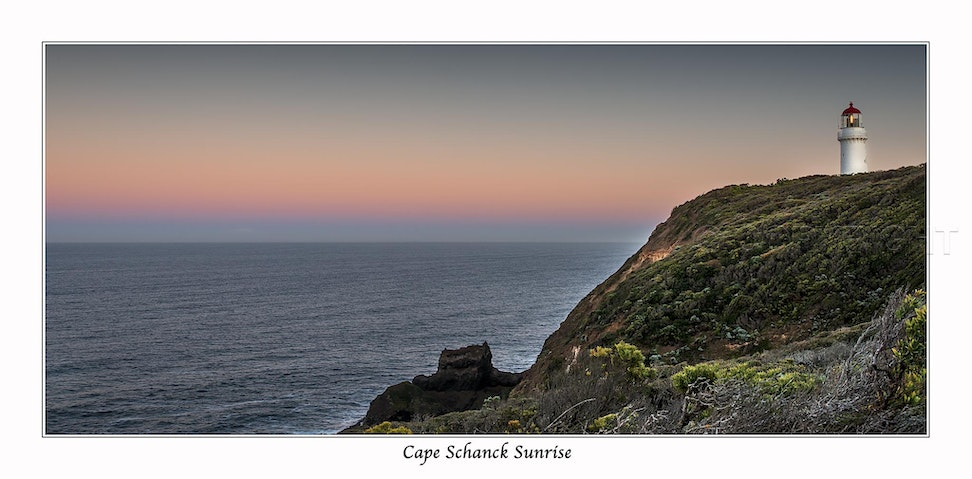 Cape Schanck Lighthouse - Sunrise at Cape Schanck