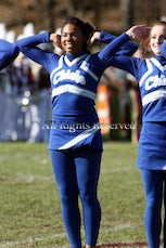 JCHS cheerleaders - Caldwell Chiefs cheerleading contingent