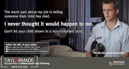 Pool Safety billboard 1