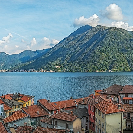 062 Como 101015-1623-Pano-Edit-2-Edit - View from the hill behind Argegno, Lake Como, Italy