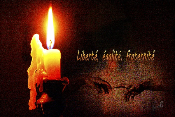 Light a candle for Paris - Reach out and support our brothers and sisters in the fight against terrorism.