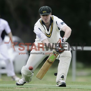Cricket, GDCA McIntyre Cup: Woodend v Riddell. - Pictures by Shawn Smits