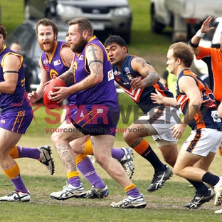 EDFL Jacana vs Burnside Heights - EDFL division 2 match between Jacana vs Burnside Heights July 2014
