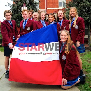 Kyneton's Sacred Heart College - Kyneton's Sacred Heart College say an exchange trip to France. Pictures: Joe Mastroianni