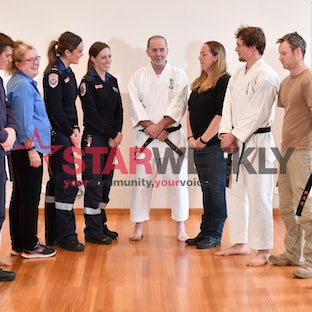 Shocks aplenty for karate class - Photos by Damjan Janevski