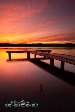 Green Point Jetty Sunset 22 May 2014 IMG_1836 1050