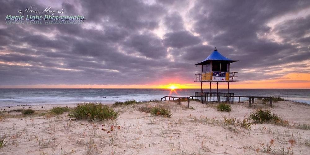 The Entrance Beach Sunrise 04 Nov 2014 IMG_2480 1200 panorama