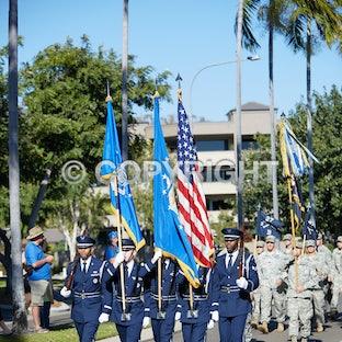 VP70 Parade and Memorial Service 15/8/15 - VP70 Parade and Memorial Service 15/8/15 on Townsville Strand and Anzac Park