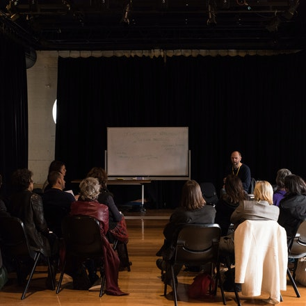 National Play Festival - Industry Talk - An industry talk at the National Play Festival at the Malthouse Theatre Melbourne, July 2016