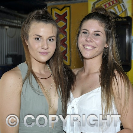 160312_SR29880 - Emily Bielenberg, Shannon Cossor at the Longreach Races, Saturday March 12, 2016.  sr/Photo by Sam Rutherford