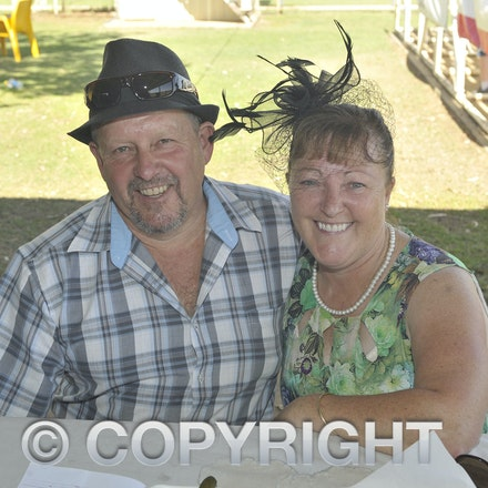 151024_SR23411 - Dale and Christine Bignall at the Isisford Races, Saturday October 24, 2015.  sr/Photo by Sam Rutherford