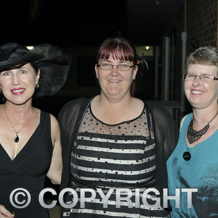 151031_SR23878 - Therese Russell, deslee Daley, Wendy Phelps at the Rotary function held qat the Jumbuck Motel, Longreadch, Saturday October 31, 2015....