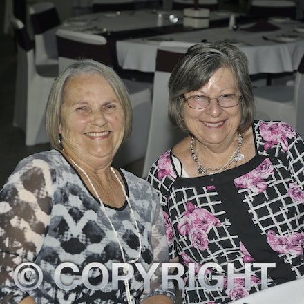 151107_SR24885 - Betty wason, Glennie O'Toole at the Sportsmans Dinner in Barcaldine, Saturday November 7, 2015.  sr/Photo by Sam Rutherford.