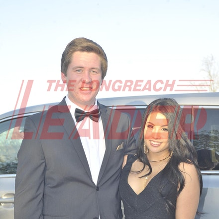 151120_SR27452 - Ryan Stephenson, Lauryn Horne at the Longreach State High School formal, Friday November 20, 2015.  sr/Photo by Sam Rutherford