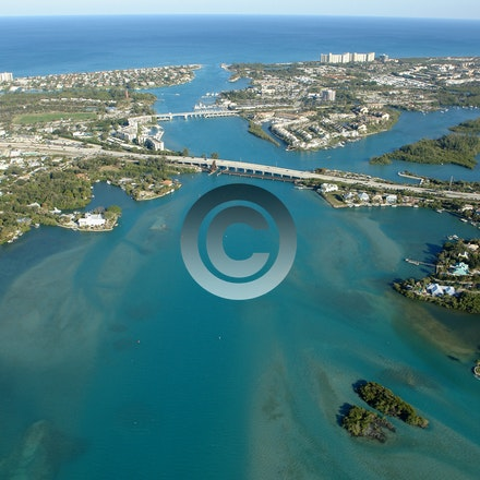 JUPITER TEQUESTA - Aerial Photos of Jupiter and Tequesta FL.