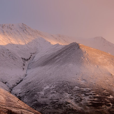 Dawn light on Blencathra