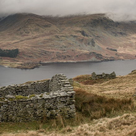 Two bothies and Haweswater